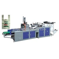Full Auto High-speed Plastic T-shirt Bag Making Machine