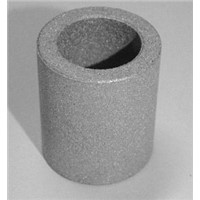 Gas-permeable powder metal