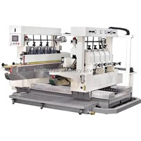 KD8Y-GLASS STRAIGHT-LINE DOUBLE PENCIL EDGING MACHINE