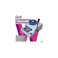 Manual PVC Card Embosser (HM01140106)