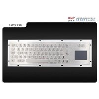 Medical Keyboard with Touch Pad