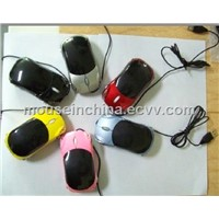 New Purple Color Car Shaped Mouse with 3D USB