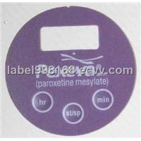 PC Membrane Switch Adhesive Label