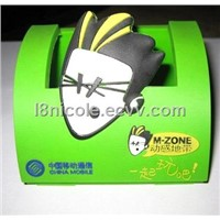 PVC mobilephone stand