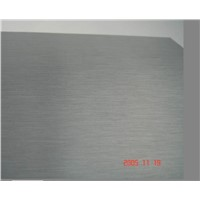 Aluminium Anodized Plate/Sheet/Coil/Roll with Brush Surface