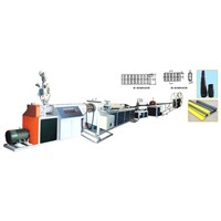 Prestressed Plastic Corrugated Pipe Extrusion Line