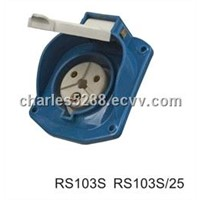 Rubber Waterproof Industrial Socket