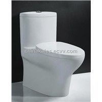 China Sanitary ware Suppliers Siphonic One-Piece Toilet (A-0148)
