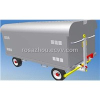 Steel Canopy Baggage Cart(aluminum-alloy baggage carts)