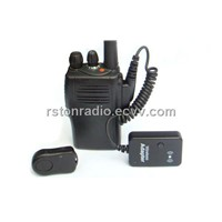 bluetooth adapter for two way radio