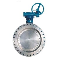 Tri-Eccentric Mental Seal Flange End Butterfly Valve