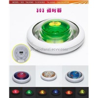 UFO Night Light with Talking Clock