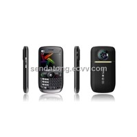 WIFI TV Java Qwerty Quad Band Dual Sim Cell Phone E77