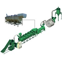 Waste Plastic Recycling and Reprocessing Production Line