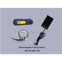 electromagnetic parking sensor with LED dispaly