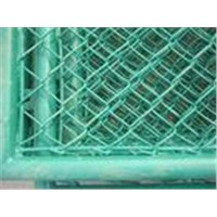 PVC Coated Chainlink Fence