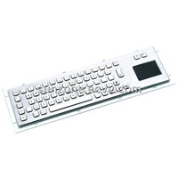 Stainless Keyboard with Touchpad
