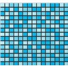 Misty Blue Mix Mosaic