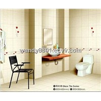 Bathroom Ceramic Wall Tile (300*600mm)
