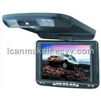 "10.4"" Flip-Down Car DVD Player W/ TV/FM/IR/USB"