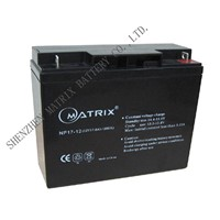 Lead Acid Batteries (12V17Ah)