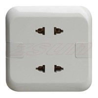 16 A 2 Gang Multi-Function Socket