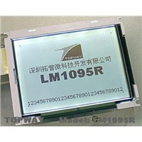 192X128 Graphic LCD Display Cog Type LCD Module (LM1095R)