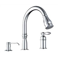 3 Hole American Style Kitchen Faucet Sink Faucet