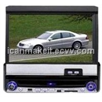 "7"" Motorized In-dash Car DVD Player"