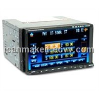 7inch 2 Din Touchscreen DVD