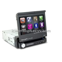 7 inch Indash One DIN Car DVD - with Touchscreen RDS,TV and BT