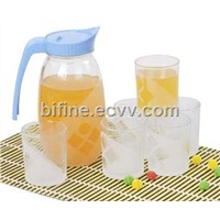 7pc Glass Drinkware Set