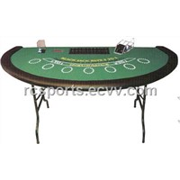 Blackjack Poker Table
