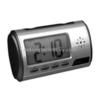 CCTV-Mini Alarm Clock DVR Spy Camera+Motion Detection (MDS-6776)