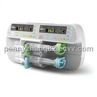 CE Approved Dual-Channel Syringe Pump (SN-50F6)