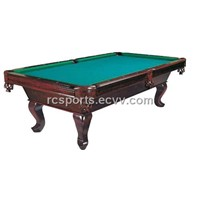 Carving Pool Table