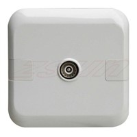 Coaxial Socket,Single Outlet