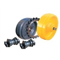 Excavator Rollergear Assembly Series