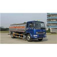 Hualing Single Axle Chemical Liquid Tank Truck - 10000L
