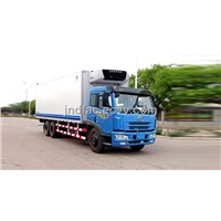 Jiefang Double Rear Axle Refrigerated Truck