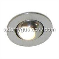LED Downlight with Reverse Polarity Protection and 30 Degrees Viewing Angle