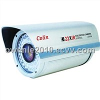 Long Distance CCTV CCD IR White Light Security Zoom Camera