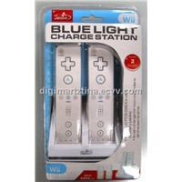 PEGA Bluelight Charge Station with 2pcs 2800mAH