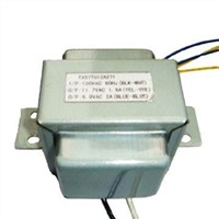 Power Transformer with Protective Shell