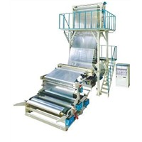 High Speed Film Blowing Machine Set / Plastic Extruder