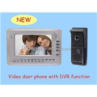 Video Door Phone with DVR Functions