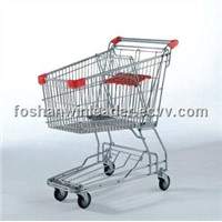 YLD-006-1 107L Wire Shopping Trolley