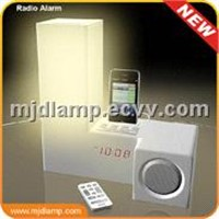 AM & Fm Radio Table Lamp