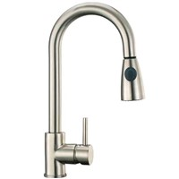 Brushed Nickel Kitchen Faucet Sink Faucet Taps