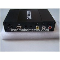 Car DVB-T MPEG-4/2 Digital TV Receiver